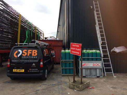SFB Solutions Security Camera Install Essex