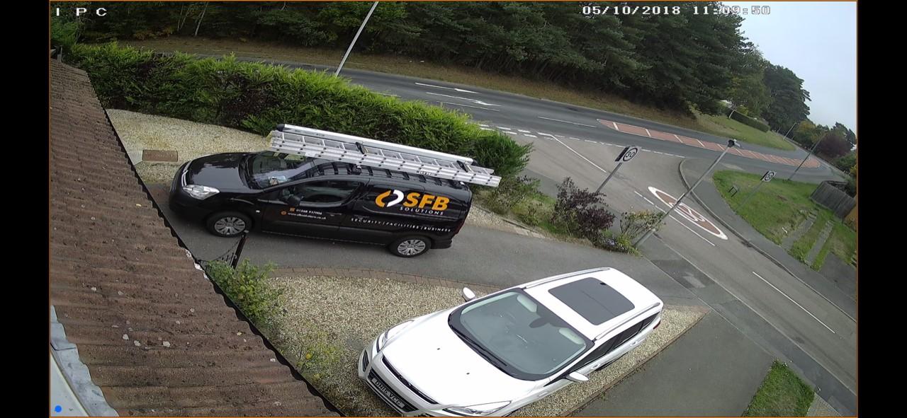Security Camera At Home Road