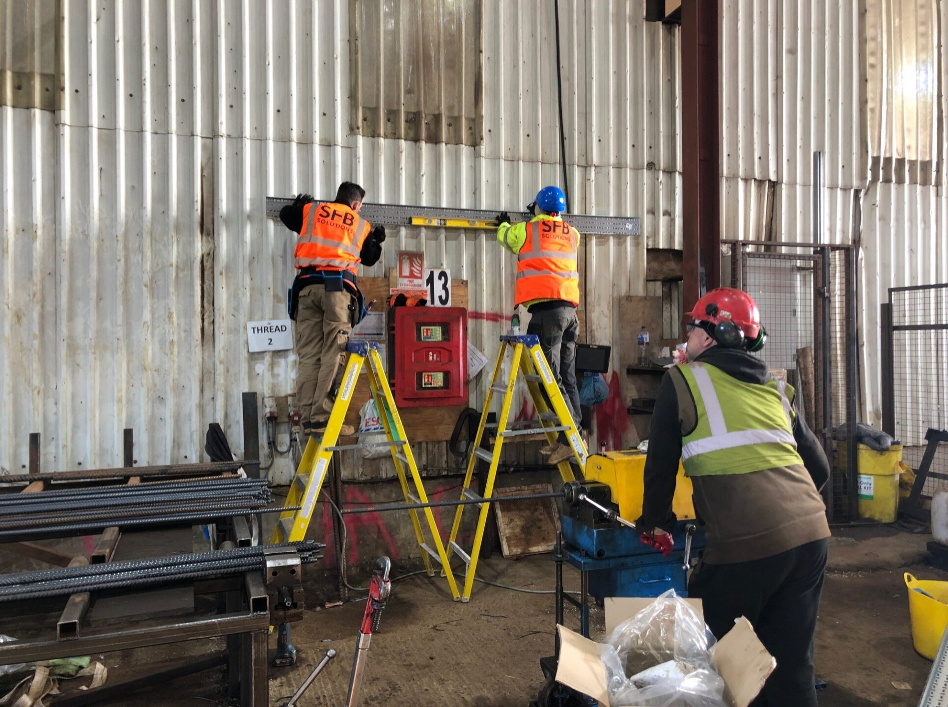 canvey island industrial electrical work SFB Solutions